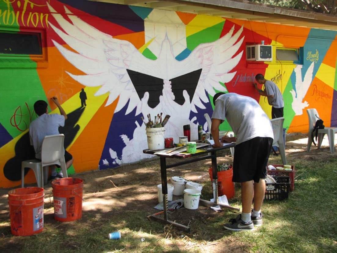 Mural Gallery - Camp Mendenhall 1