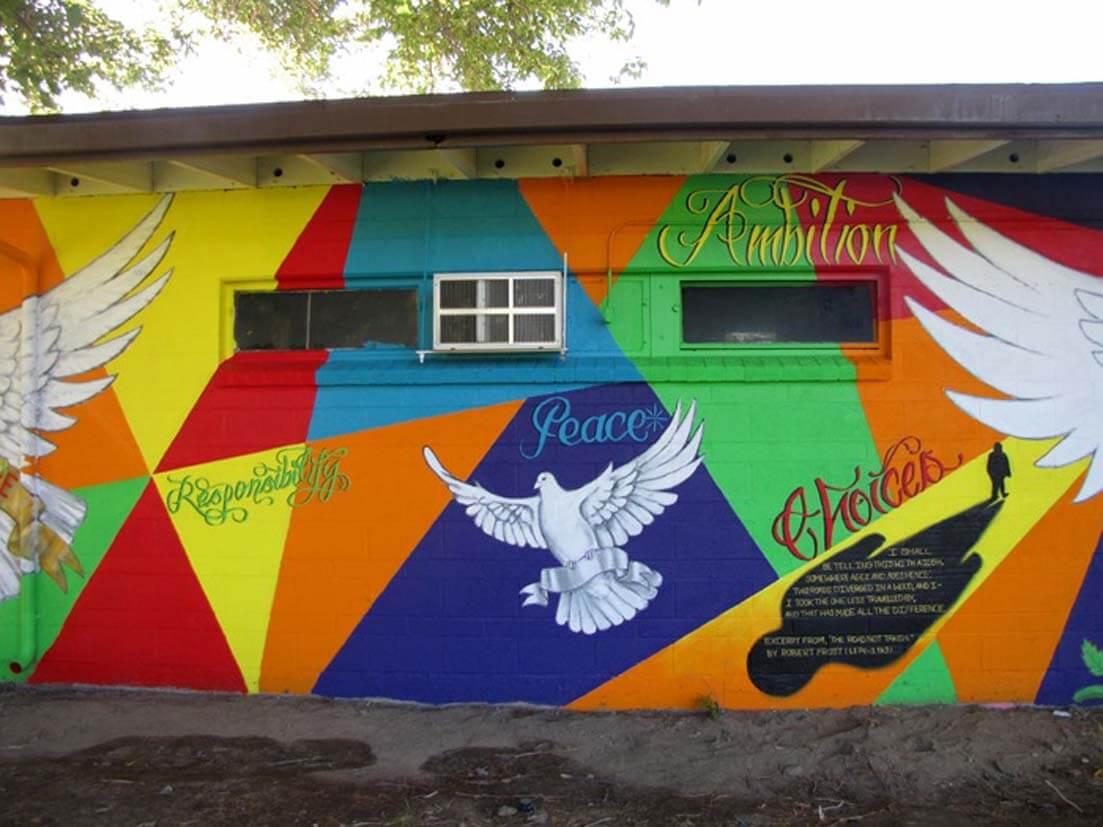 Mural Gallery - Camp Mendenhall 2