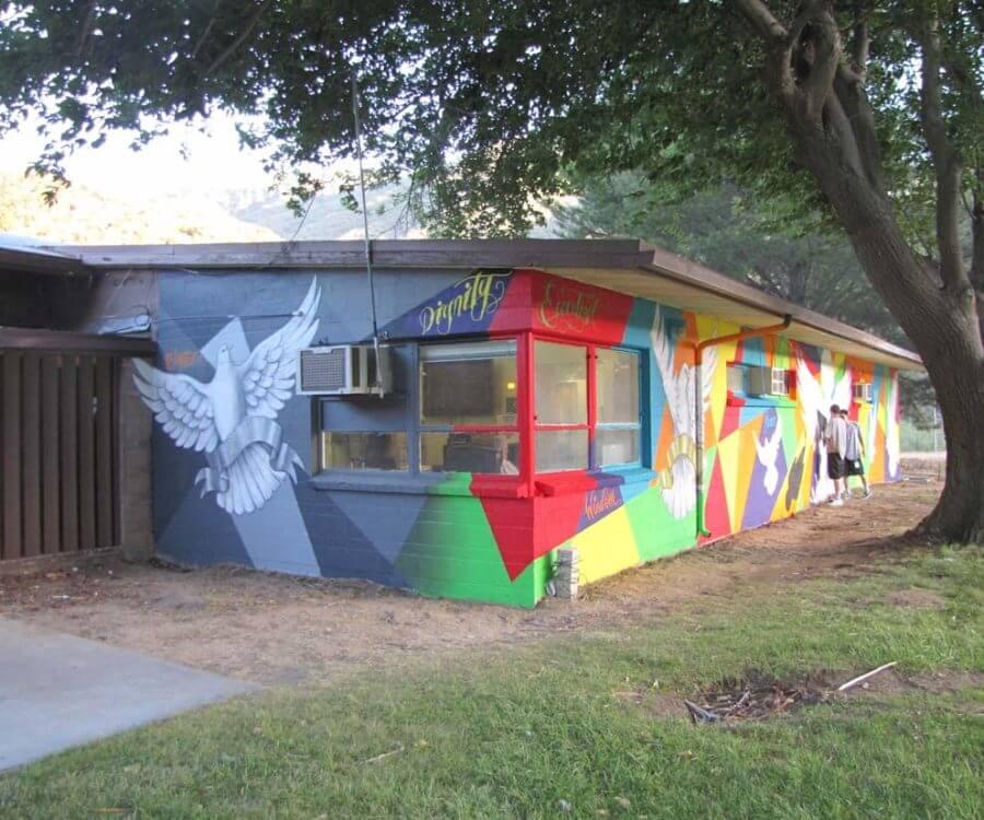 Mural Gallery - Camp Mendenhall 3