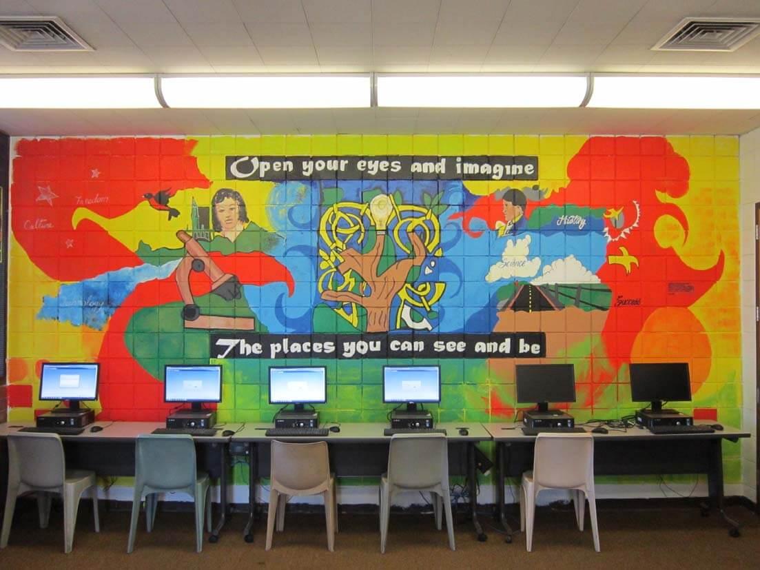 Mural Gallery - Camp Nidorf 1