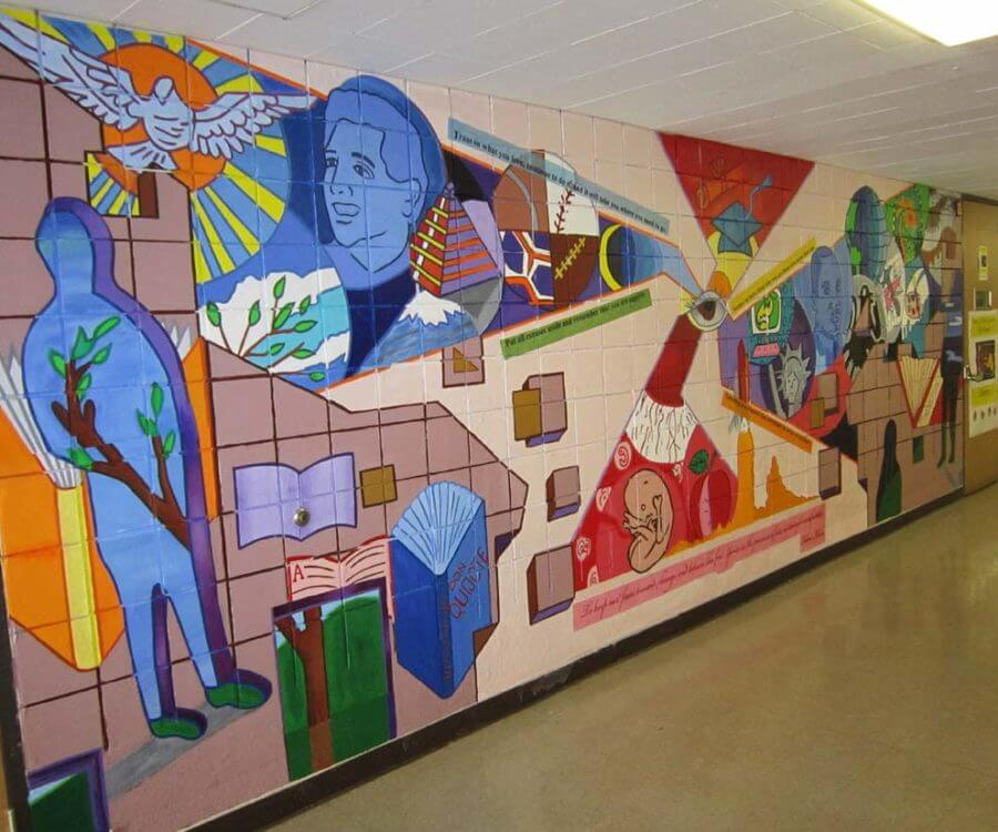 Mural Gallery - Camp Nidorf 2