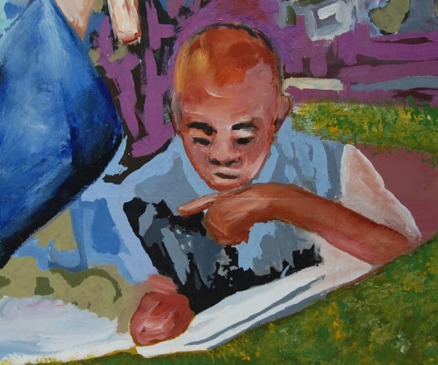 Mural Gallery - Christa McAuliffe 2